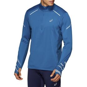 asics Lite-Show Zimowa bluza z długim rękawem i zamkiem błyskawicznym 1/2 Mężczyźni, deep sapphire/mako blue